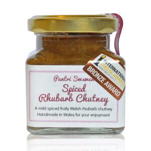 Award winning Spiced Rhubarb Chutney ICA 2017
